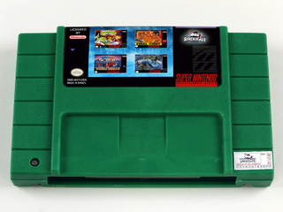 Cartucho 4 Em 1 Beat Em Up Vol 1 Super Nintendo Snes