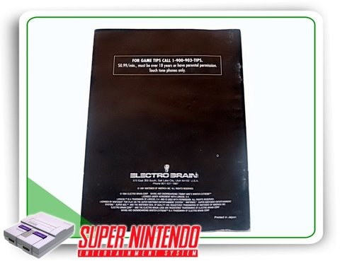 Manual Skiing And Snowboarding Winter Extreme Snes Original - comprar online