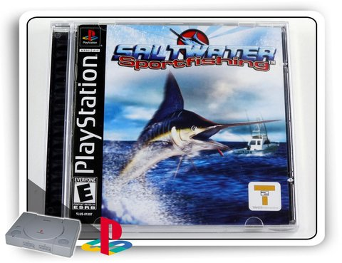 Saltwater Sport Fishing Original Playstation 1 Ps1