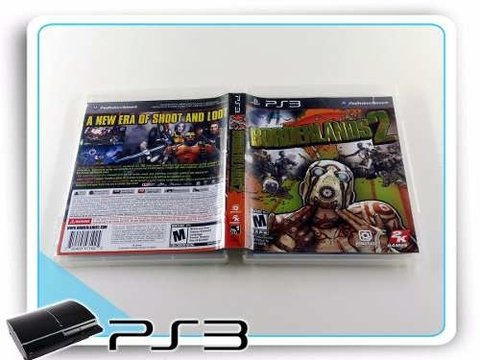 Borderlands 2 Original Playstation 3 PS3 - comprar online