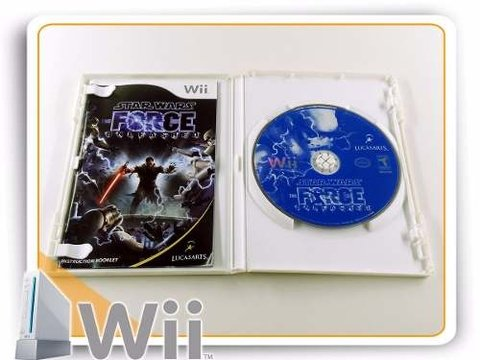 Wii Star Wars Force Unleashed Original Nintendo Wii na internet