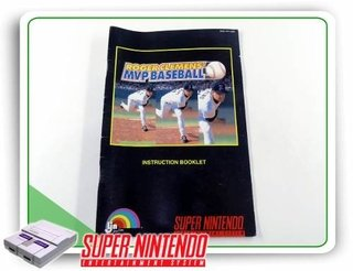 Manual Roger Clemens Mvp Baseball Original Super Nintendo