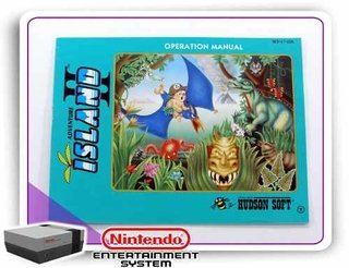 Manual Adventure Island 2 Original Nintendinho Nes 8-bits