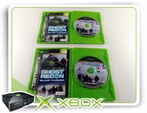 Tom Clancys Ghost Recon Island Thunder Original Xbox Clássic na internet
