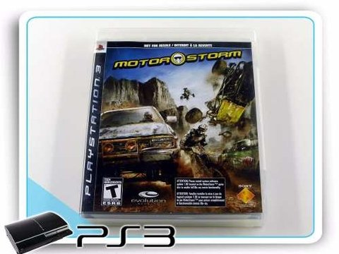 Motor Storm Playstation 3 Original PS3