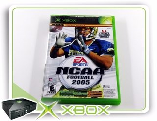 Ncaa Football 2005 + Top Spin Original Xbox Clássico Ntsc