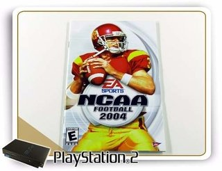 Manual Ncaa Football 2004 Original Playstation 2 PS2