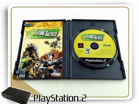 Future Tactics The Uprising Original Playstation 2 PS2 - comprar online