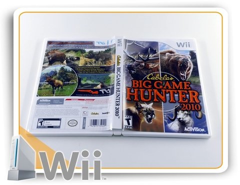 Cabelas Big Game Hunter 2010 Original Nintendo Wii - comprar online