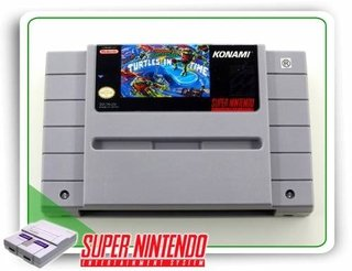 Tmnt 4 Turtles In Time Original Snes Super Nintendo