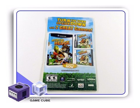 Manual Shrek Smash N Crash Racing Original Gamecube - comprar online