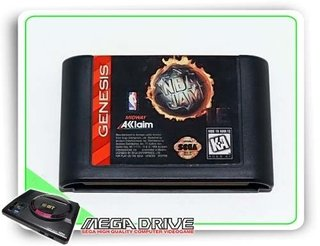 Nba Jam Tournament Edition Original Mega Drive / Genesis