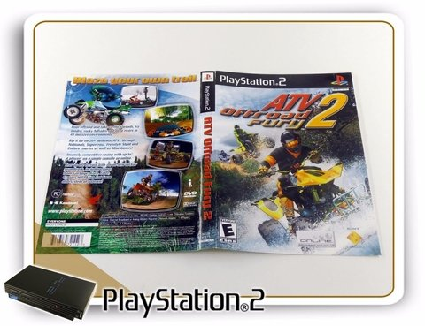 Encarte E Manual Atv Off Road Fury 2 Original Playstation 2