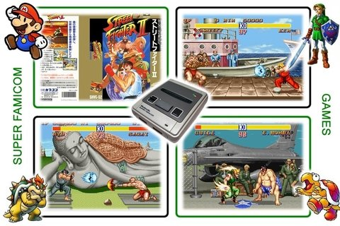 Street Fighter 2 Original Super Famicom Sfc - loja online