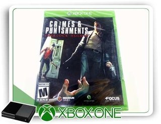 Crimes & Punishments Sherlock Holmes Xbox One Mídia Física