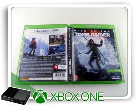 Rise Of The Tomb Raider Original Xbox One Mídia Fisica na internet