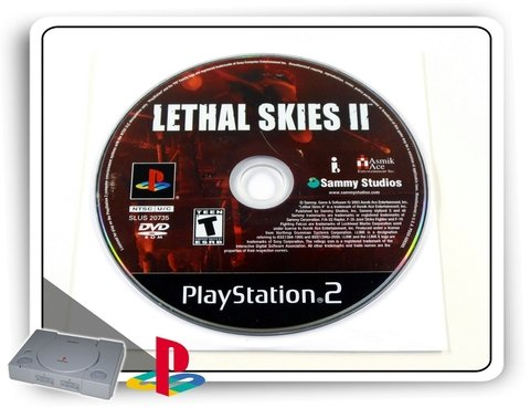 Lethal Skies 2 Original Playstation 2 Ps2