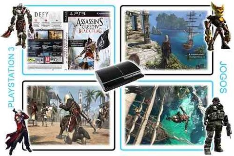 Assassins Creed 4 Black Flag Original Playstation 3 PS3 - loja online