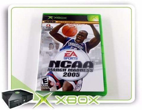 Ncaa March Madness 2005 Original XBOX Clássico