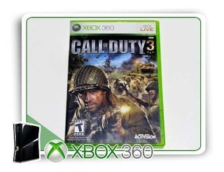 Call Of Duty 3 Original Xbox 360 - Mídia Física