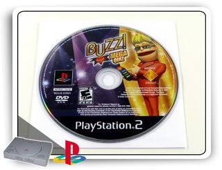Buzz Mega Quiz Original Playstation 2 Ps2