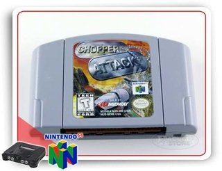 Chopper Attack Original Nintendo 64 N64
