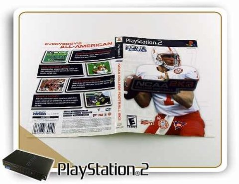 Encarte Ncaa 2k3 Original Playstation 2 PS2