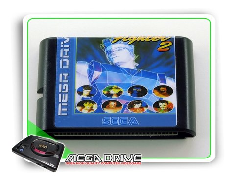 Virtua Fighter 2 Sega Mega Drive / Genesis - Novo