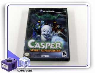 Casper Spirit Dimensions Original Gamecube Gc