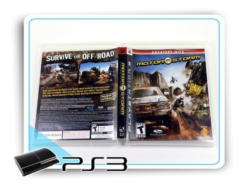 Motor Storm Original Playstation 3 Ps3 na internet