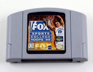 Fox Sports College Hoops 99 Original N64 Nintendo 64