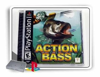 Action Bass Original Playstation 1 Ps1