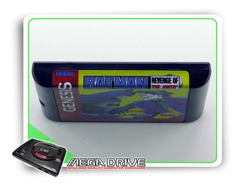 Batman Revenge Of The Joker Sega Mega Drive - Novo - comprar online