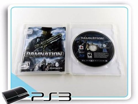 Damnation Original Playstation 3 PS3 - comprar online