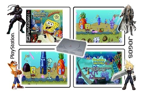 Spongebob Squarepants Supersponge Original Ps1 Playstation 1 - loja online