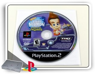 Jimmy Neutron Attack Of The Twonkies Original Ps2