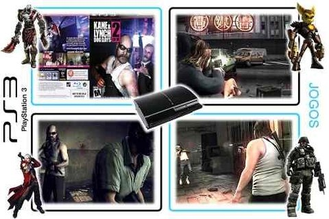 Kane & Lynch 2 Dog Days Original Playstation 3 PS3 - Radugui Store