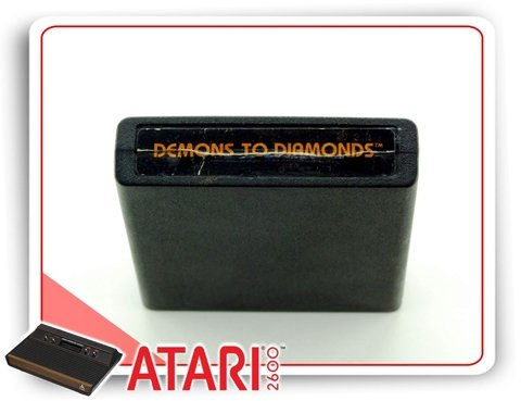 Demons To Diamonds Cartucho Original Atari na internet