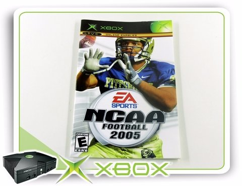 Encarte E Manual Ncaa Football 2005 Xbox Clássico Original - comprar online