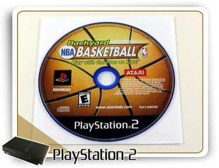 Backyard Nba Basketball Original Playstation 2 Ps2