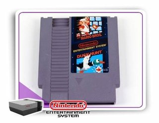 Super Mario Bros - Duck Hunt Original Nes 8-bits Nintendinho