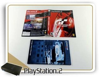 Encarte E Manual Gran Turismo 3 A-spec Origin. Playstation 2