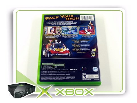 Xbox The Sims Bustin Out Original Xbox Clássico Ntsc na internet