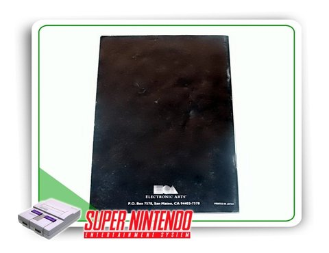 Manual Nba Showdown Original Super Nintendo Snes - comprar online