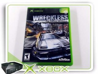 Wreckless The Yakusa Missions Orig. Xbox Clássico Ntsc