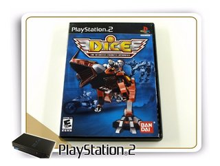 Dice Dna Integrated Cybernetic Enterprises Original PS2