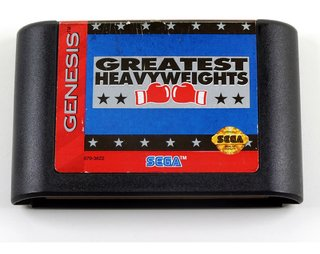 Greatest Heavyweights  Original Sega Mega Drive - Genesis