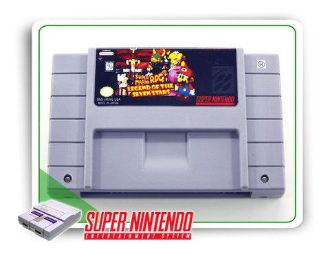 Super Mario Rpg Original Snes Super Nintendo