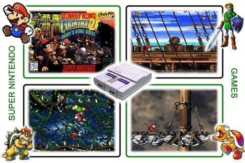 Imagem do Donkey Kong Country 2 Super Nintendo Snes - Novo Com Save