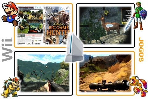 Cabelas Big Game Hunter 2010 Original Nintendo Wii - Radugui Store